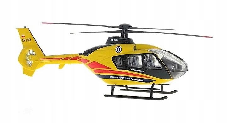 Vrtuľník LPR EC 135 Kovový model B-135