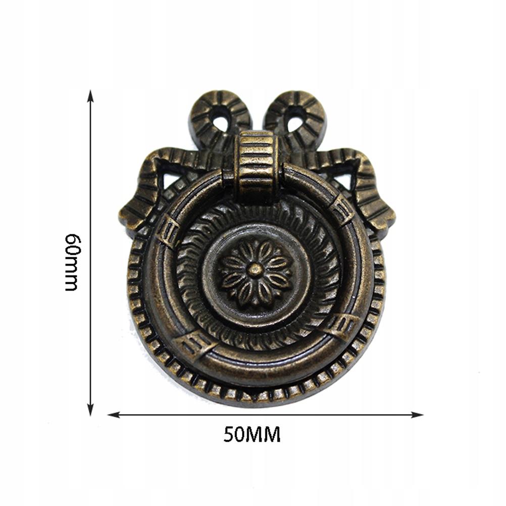 6ks 5cm rukoväť zásuvky jednoduchá retro výmena