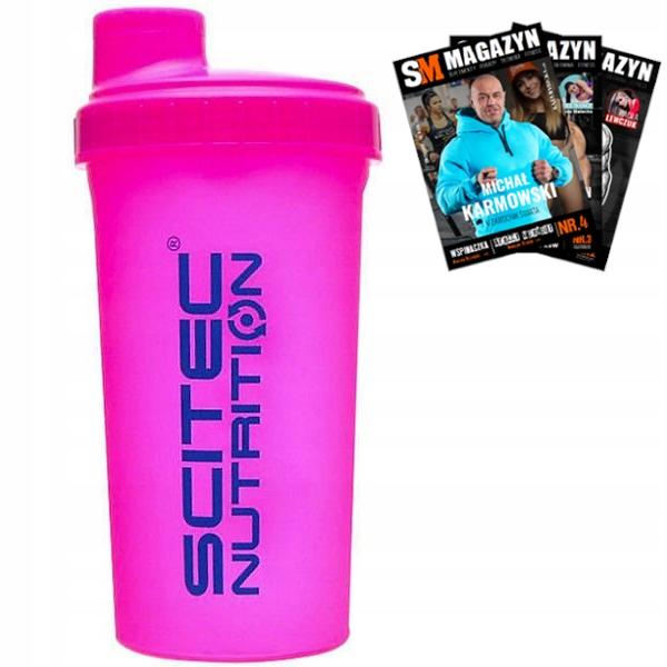 Scitec Shaker Pink 700 ml Sheiker Pink Neon