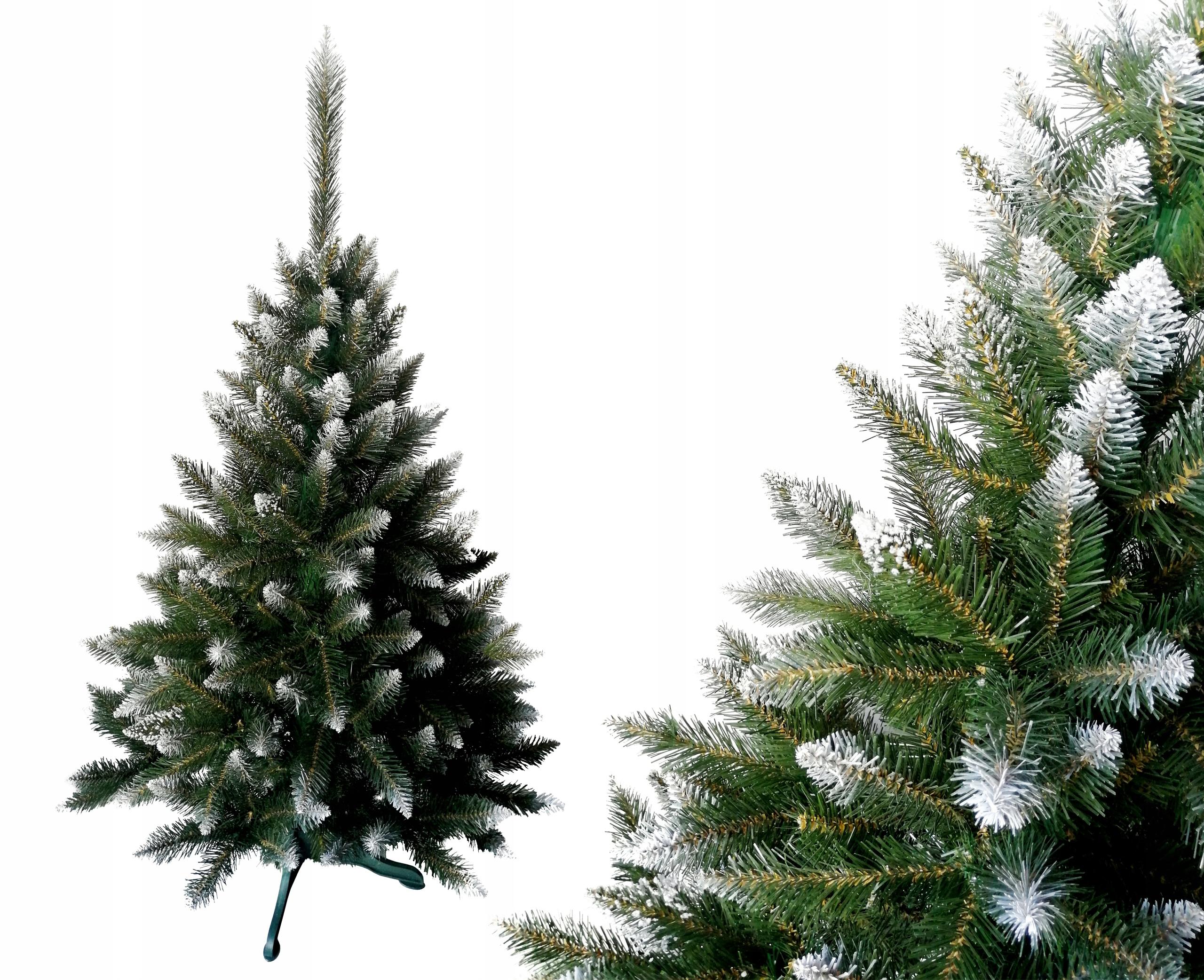 Umelý vianočný stromček STRIEBORNÝ SMREK 150 cm