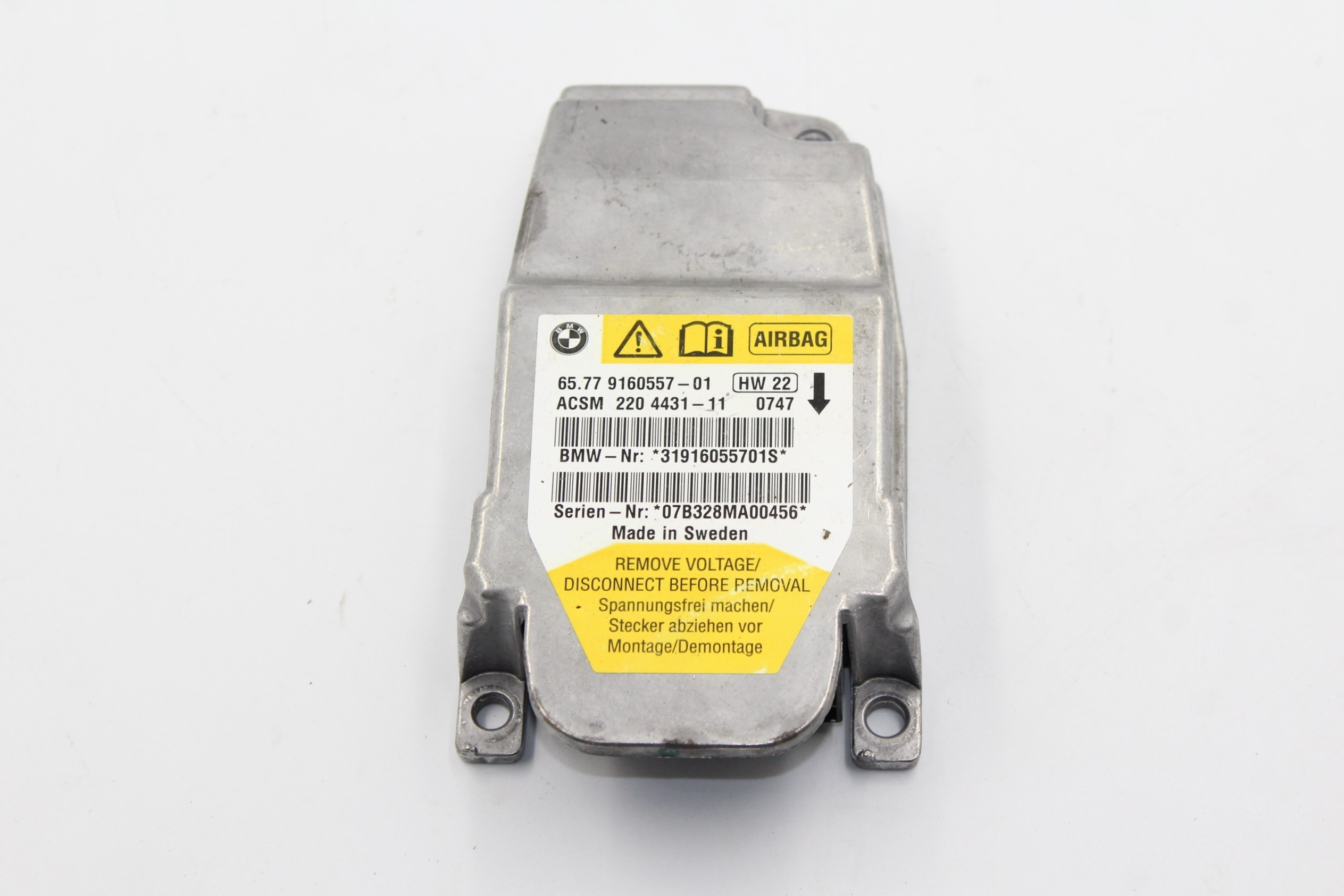 bmw e60 e63 e85 e86 z4 драйвер модуль airbag