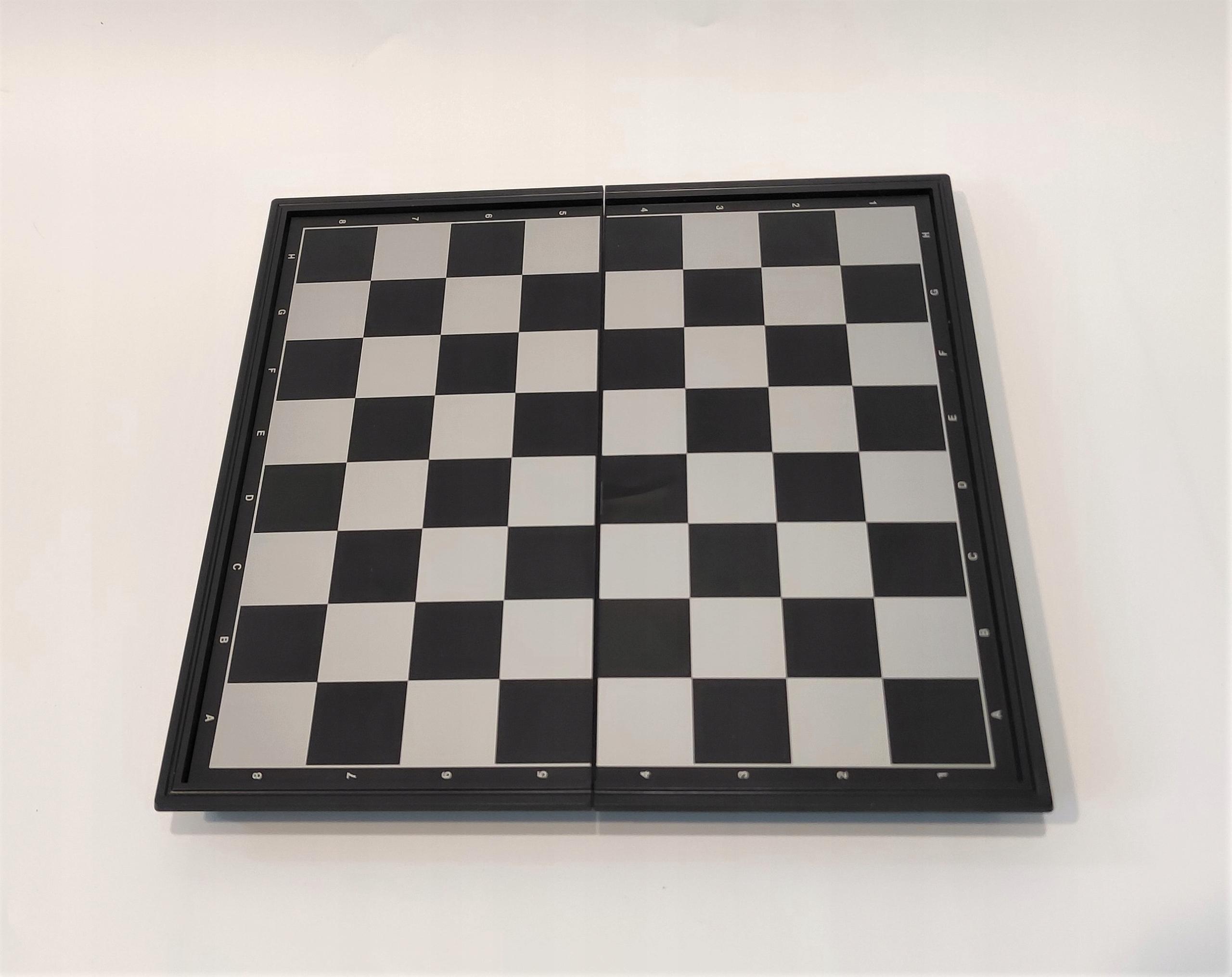 Magnetyczne składane szachy 3w1 EAN 783335252541