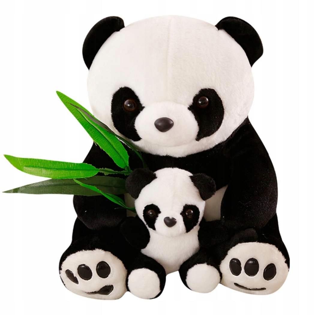 PANDA s dieťaťom Big Bear GIANT 40cm