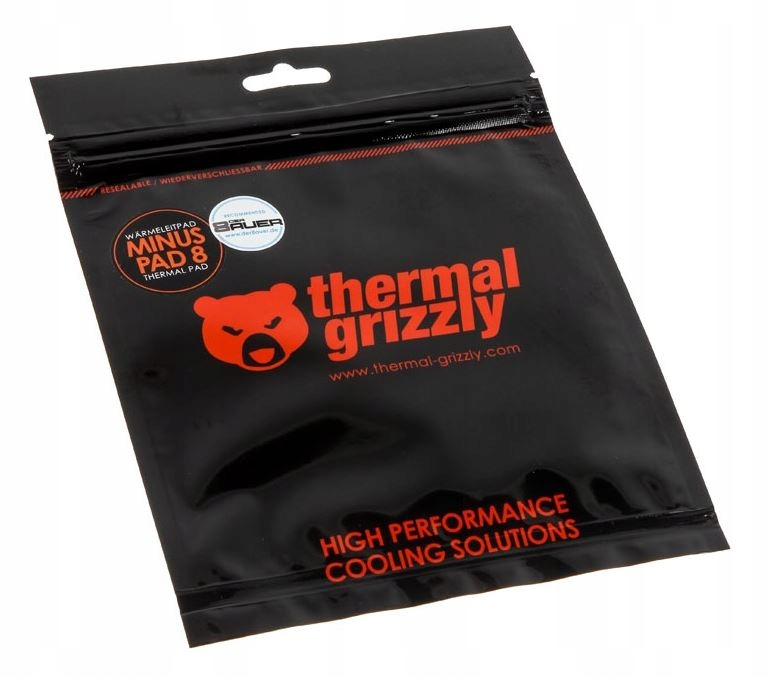 THERMAL GRIZZLY МИНУС PAD 8 120x20x1mm 2 ШТ