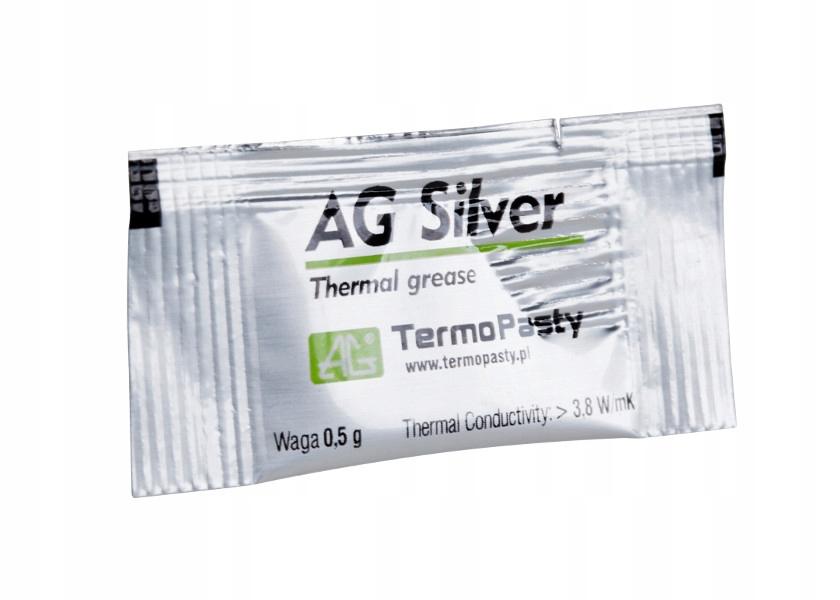 Паста теплообмена silver 0,5 г