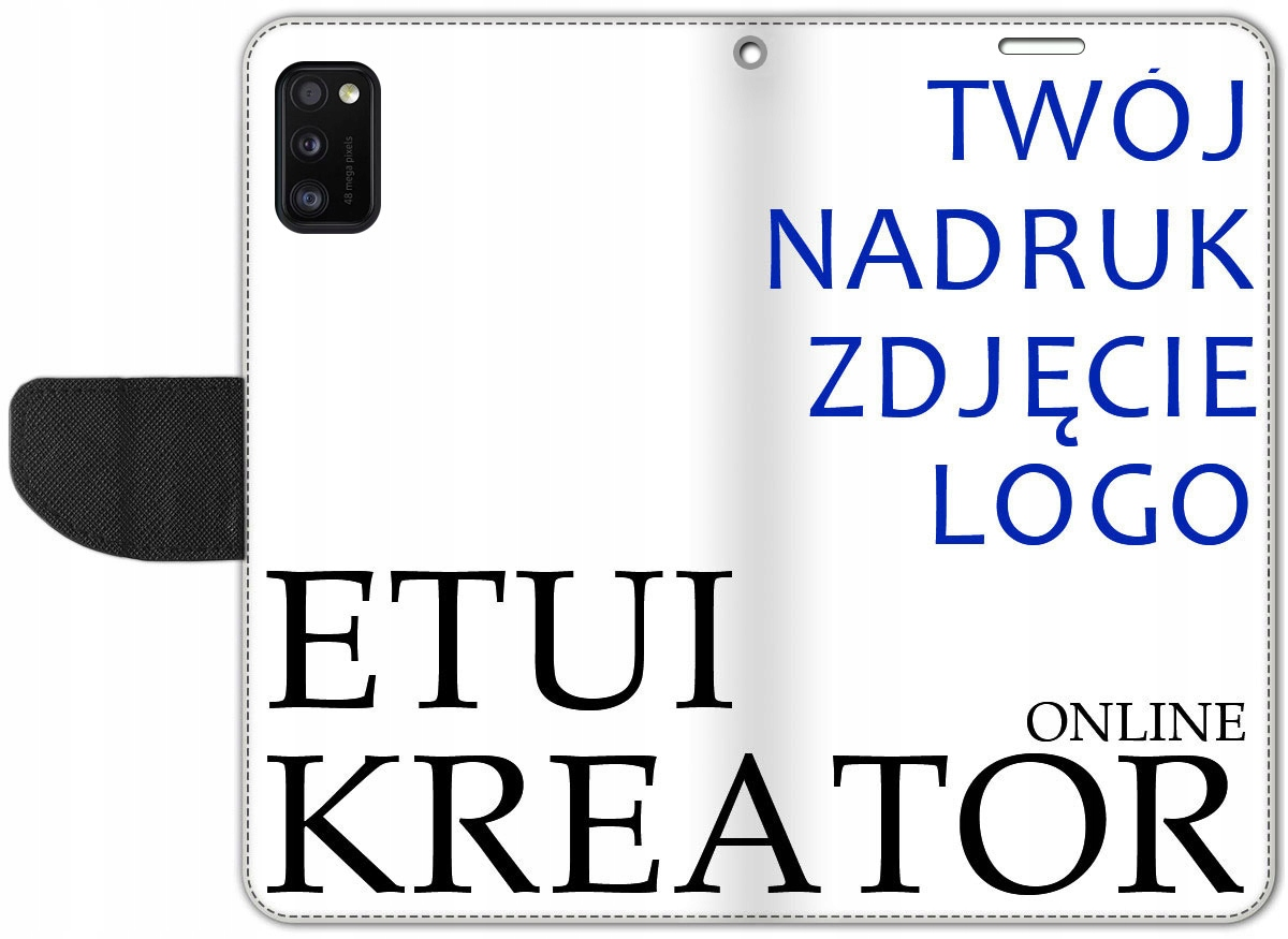 Etui Portfel Kreator Nadruk Do Samsung Galaxy A41