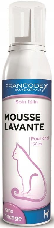 Francodex Pianka myjąca bez spłukiwania 150ml Kot