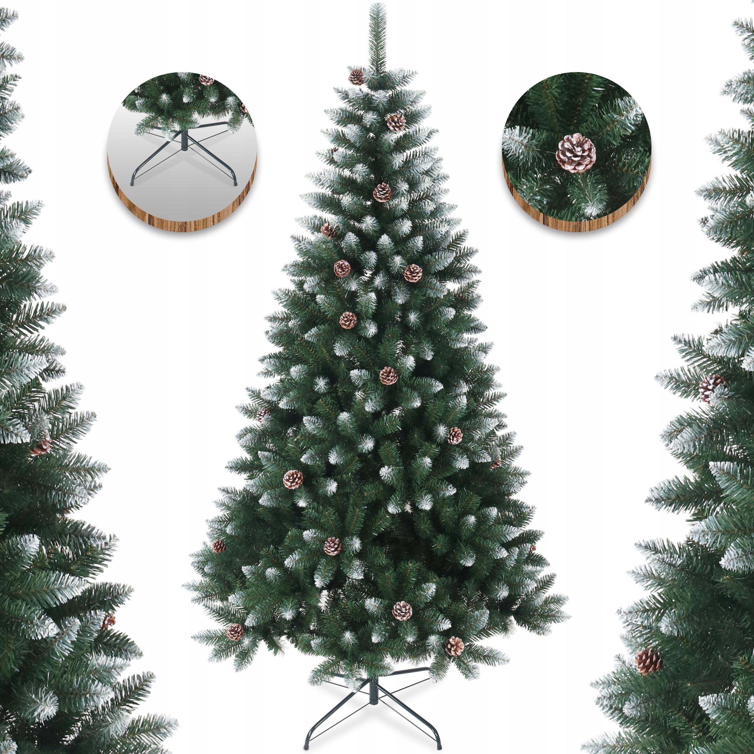 Umelý vianočný stromček na stojane Diamond Pine 210 cm