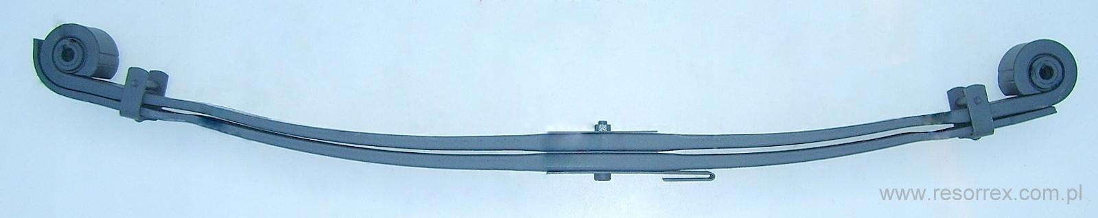 листовая передний 2 рессора man tga