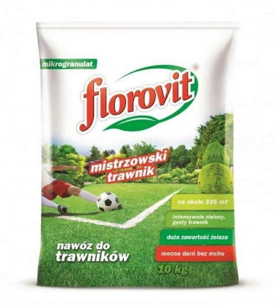 Nawóz mistrzowski trawnik Florovit 10 kg