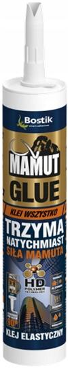Klej Uniwersalny Montażowy MAMUT Glue BIAŁY 290 ml