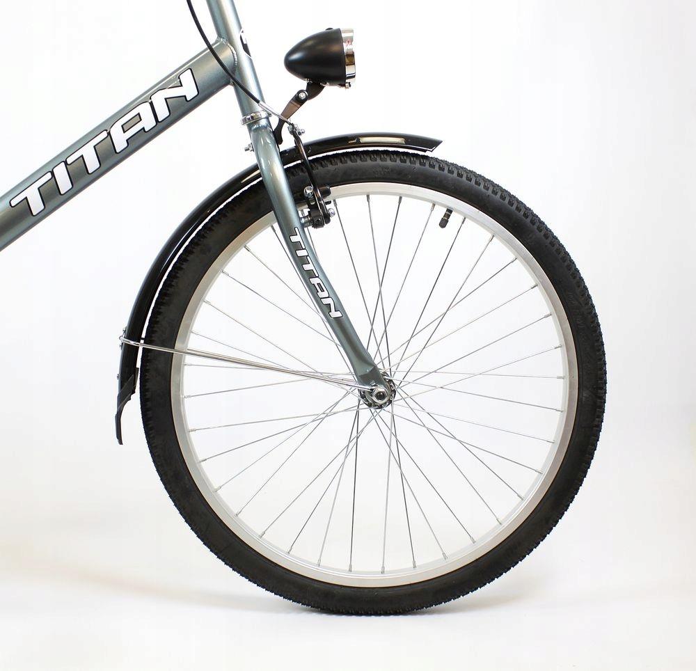 """Klasický mestský bicykel Suwano TITAN skladací 24 Veľkosť kolies ("""") 24"""