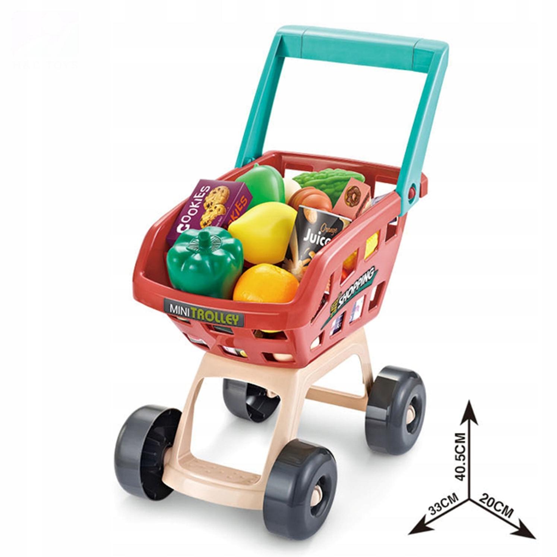Supermarket wózek na zakupy kasa czytnik 668-78 Wysokość produktu 82 cm