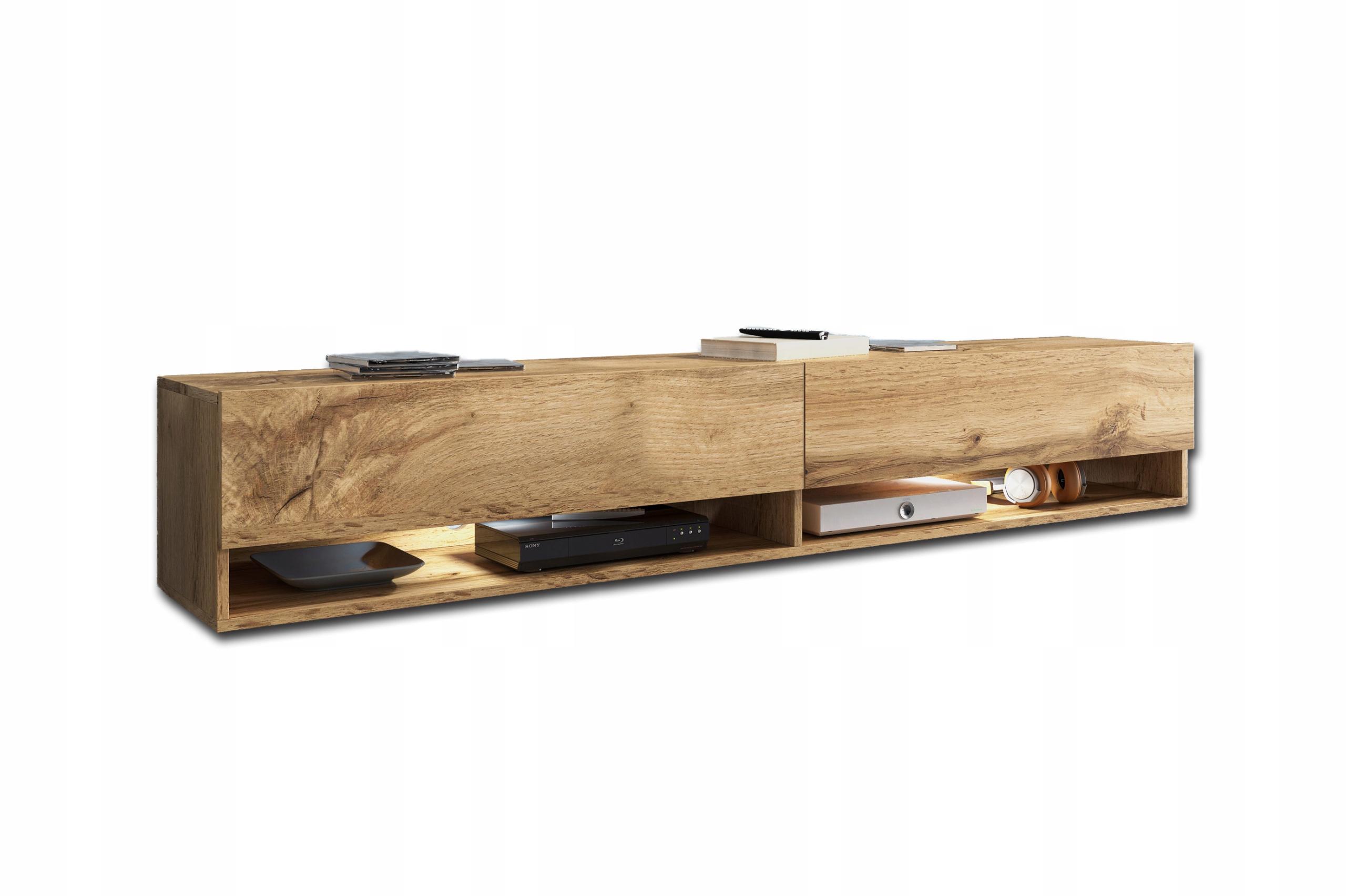Lowboard APOLLO I, szafka RTV 180cm, półka pod tv