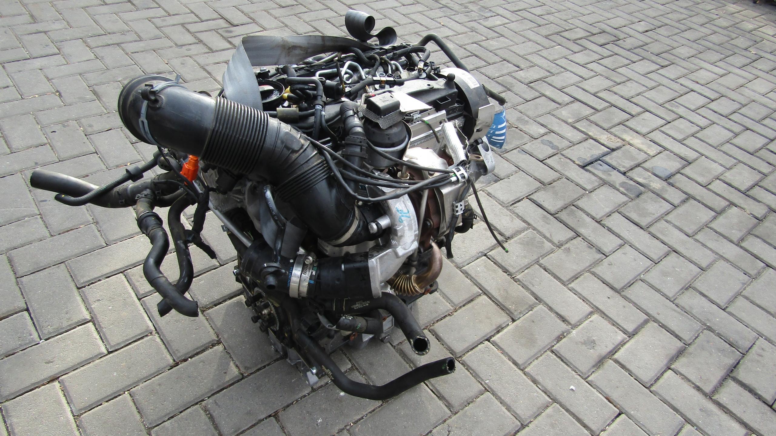 Vw tiguan двигатель 2.0 tdi cffb комплектный #@# - фото 2