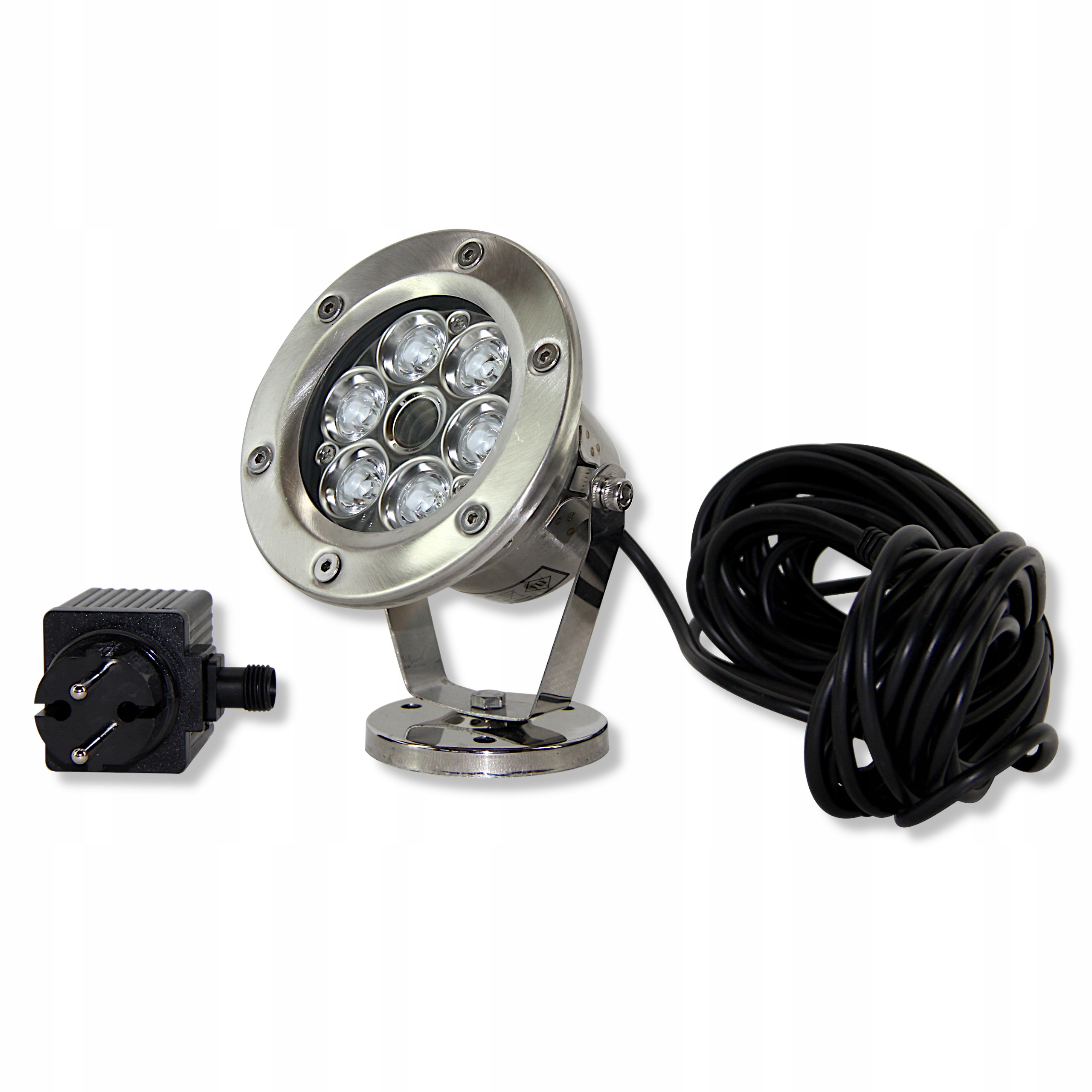 ЛАМПА LED - Фары из нержавеющей QL 21 6W Белый
