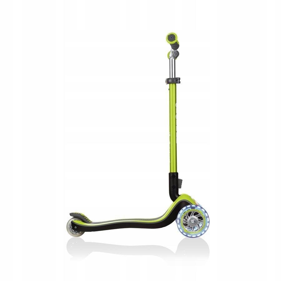 Hulajnoga 3-kołowa Globber Elite Prime Zielony Kolor Pomarańczowy