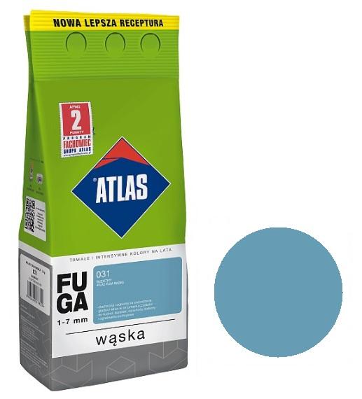 ATLAS - FUGA WĄSKA 2kg - 031 BŁĘKITNY - 1-7mm