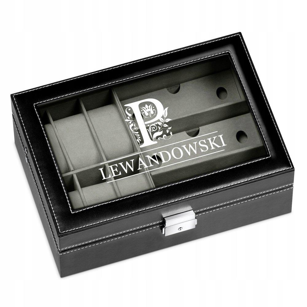 Item BOX FOR EYEGLASSES ENGRAVER GIFT