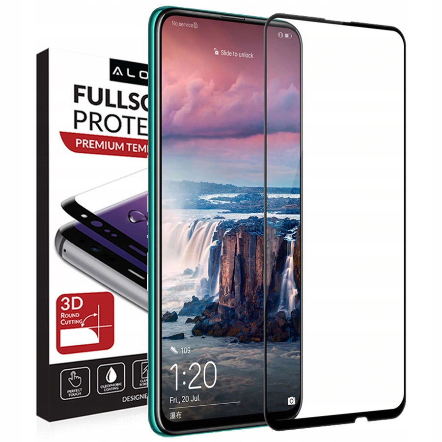 Szkło 9H Alogy Full Glue 5D Huawei P Smart Z 2019