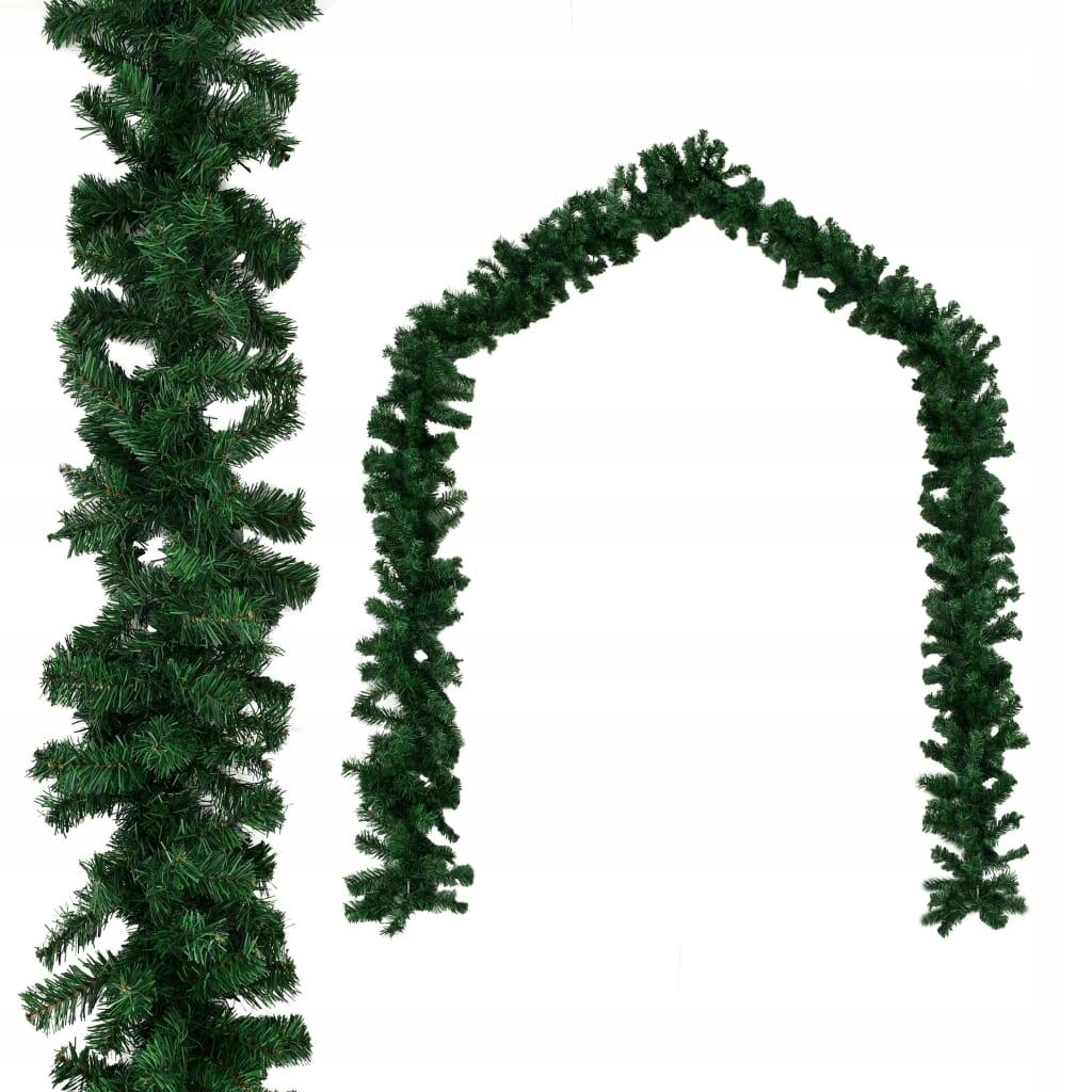 Girlanda z vianočného stromčeka z PVC, 10 metrov