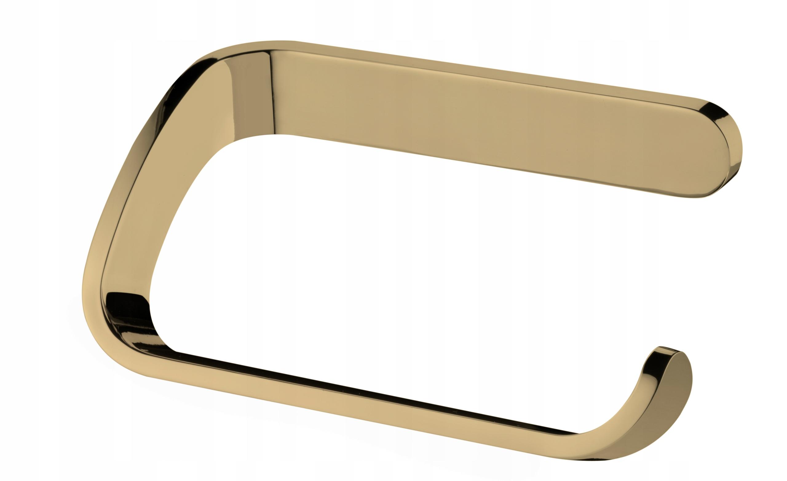 Držiak na toaletný papier Simple Gold zo zlata