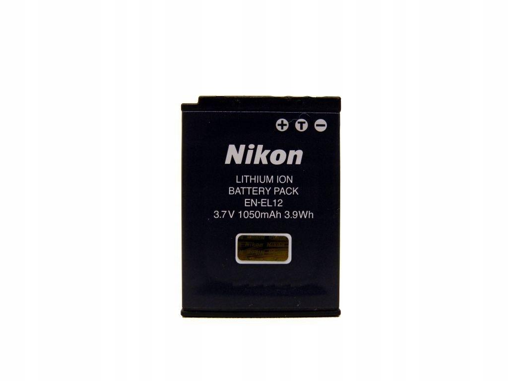 Купить Оригинальный аккумулятор Nikon EN-EL12 S610 AW100 на Otpravka - цены и фото - доставка из Польши и стран Европы в Украину.