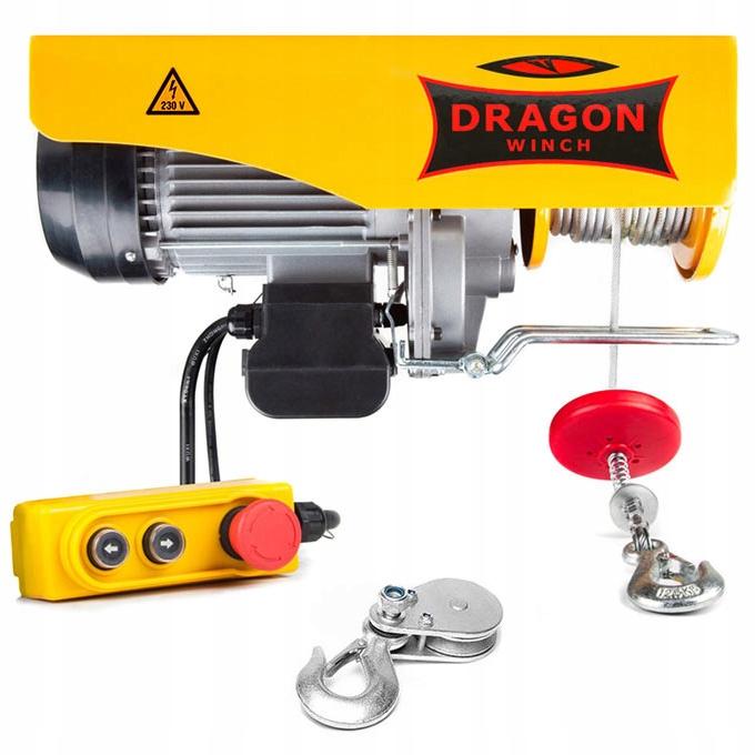 Dragon 230V Construction Winch Dragon 230V 990KG