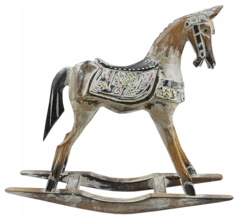 Kôň Kôň na póloch RETRO OBRÁZOK 37x35