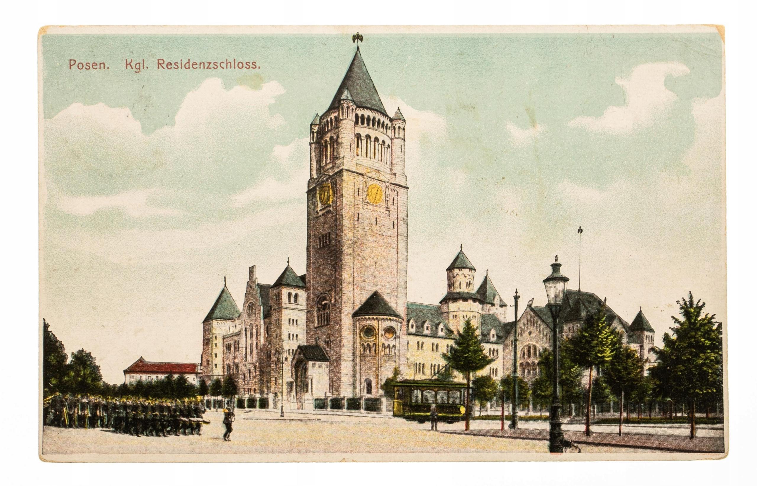 POZNAŃ ZAMEK CESARSKI 1910