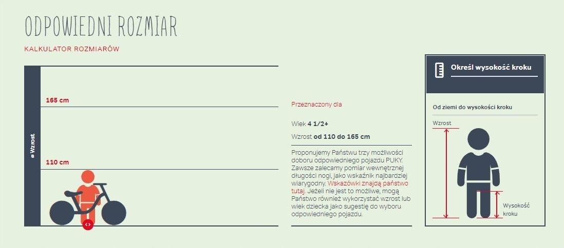 Hulajnoga PUKY R 07L biało/z. 5419 5 lat gwarancji Cechy dodatkowe pompowane koła stopka