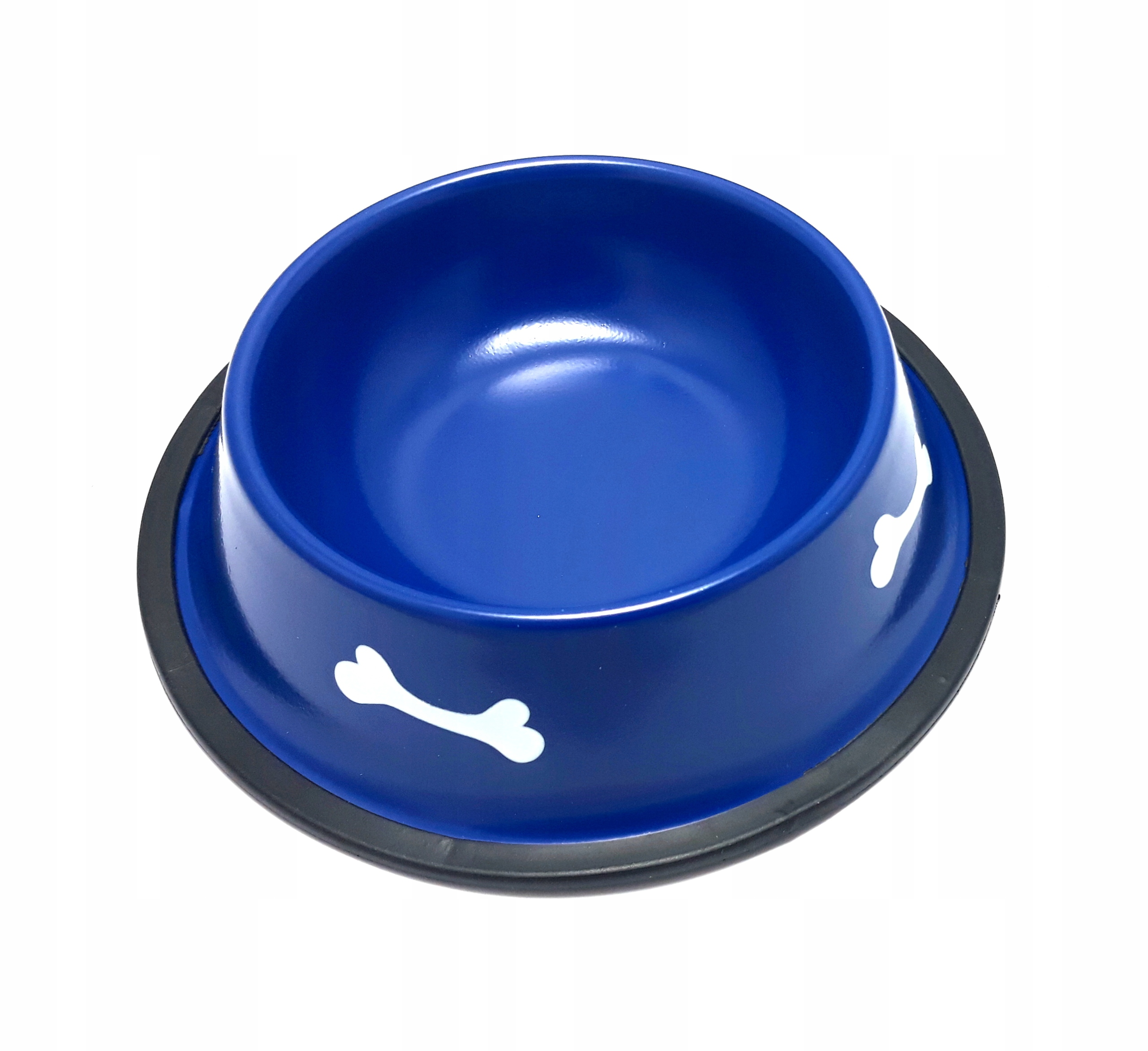 Миска металлическая для маленького щенка 0,4 л