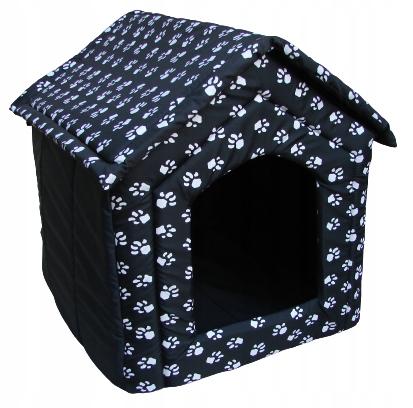 Legowisko psa kota domek BUDA z materiału XXL R4