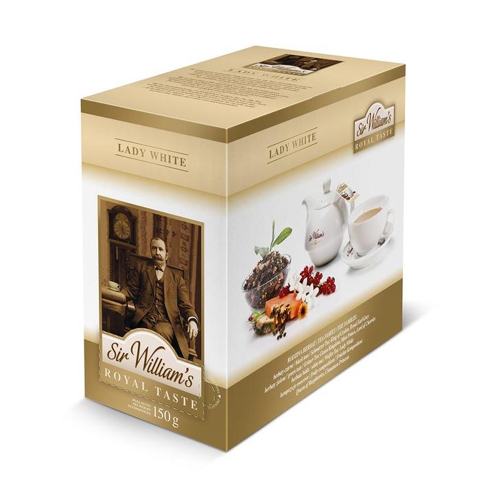 Čaj Pane Williams Royal Chuť Lady Biela