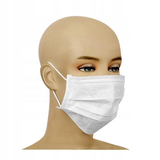 3-х слойная защитная маска op. 50 шт.