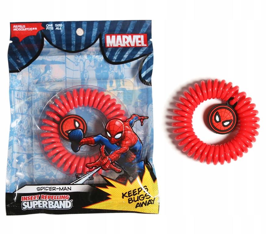 OPASKA PRZECIW OWADOM SUPERBAND SPIDERMAN MARVEL
