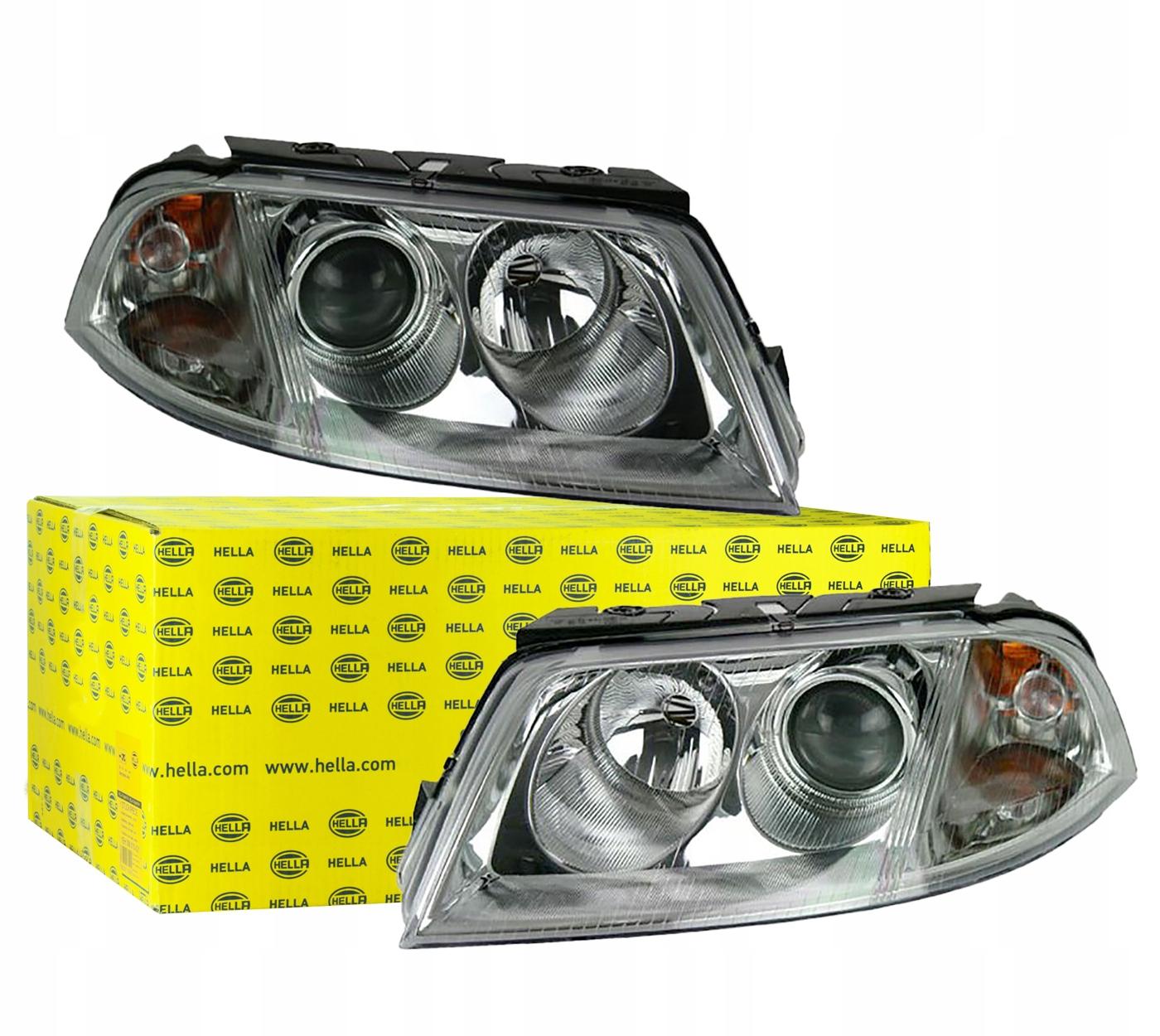 лампы фары vw passat v b5 fl 00-05 комплект