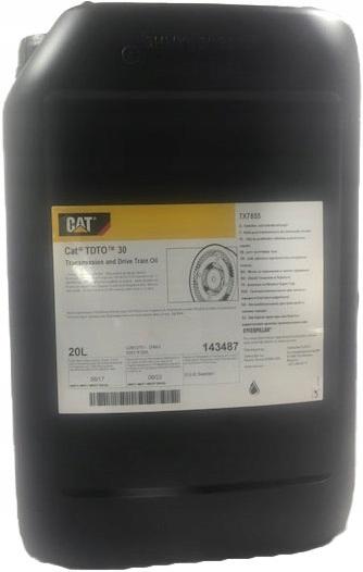 Купить Трансмиссионное масло CATERPILLAR TDTO_SAE30-20L на Otpravka - цены и фото - доставка из Польши и стран Европы в Украину.