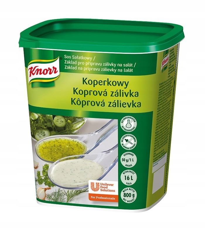 Item KNORR salad dressing Koperkowy 800g