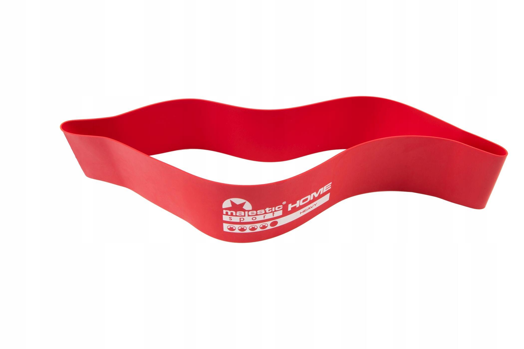 HOME MINI BAND MajesticSport sada cvičebných pásov Dominantná farba je viacfarebná