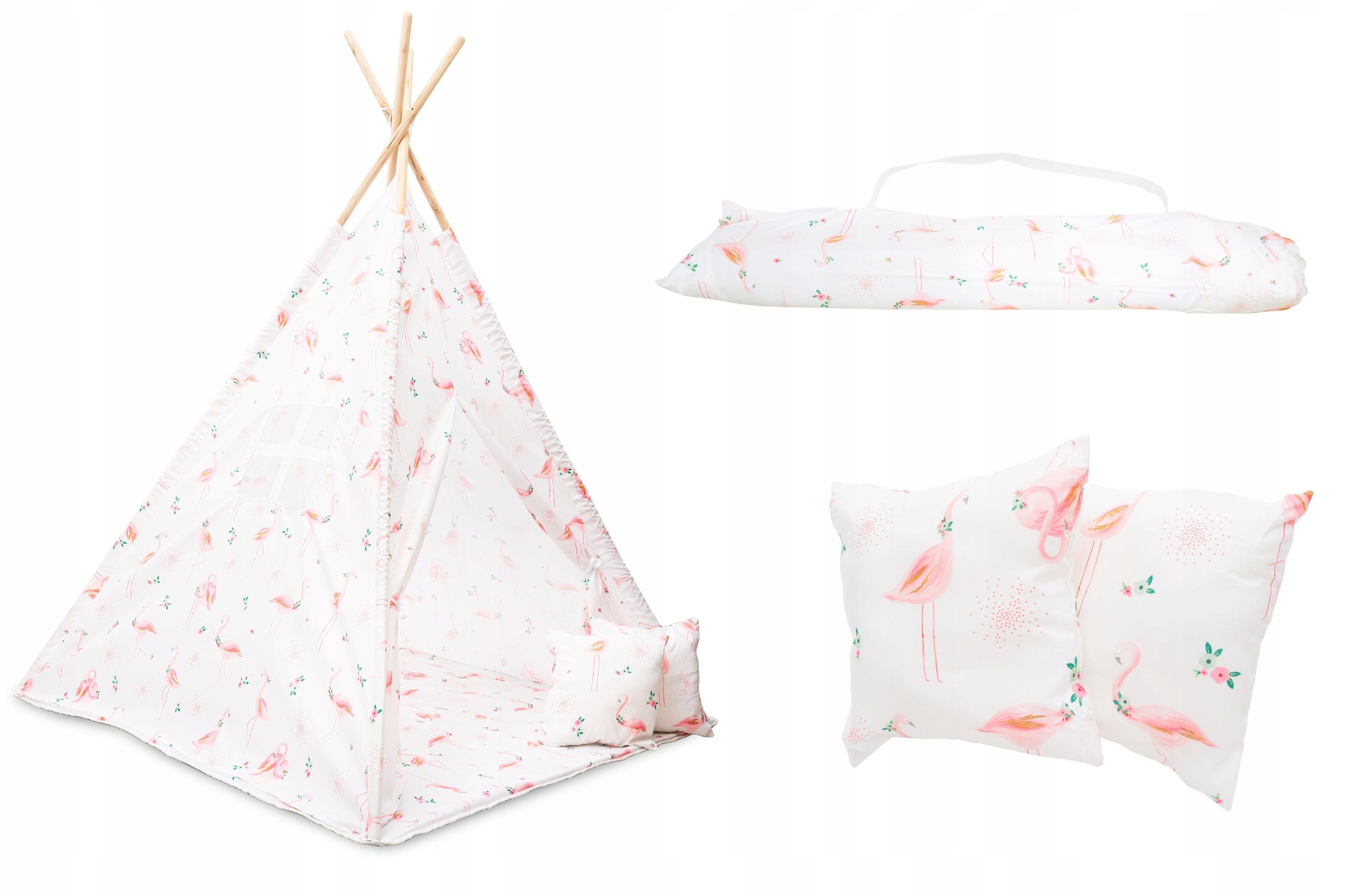 Палатка TiPi Wigwam + 2 подушки + коврик
