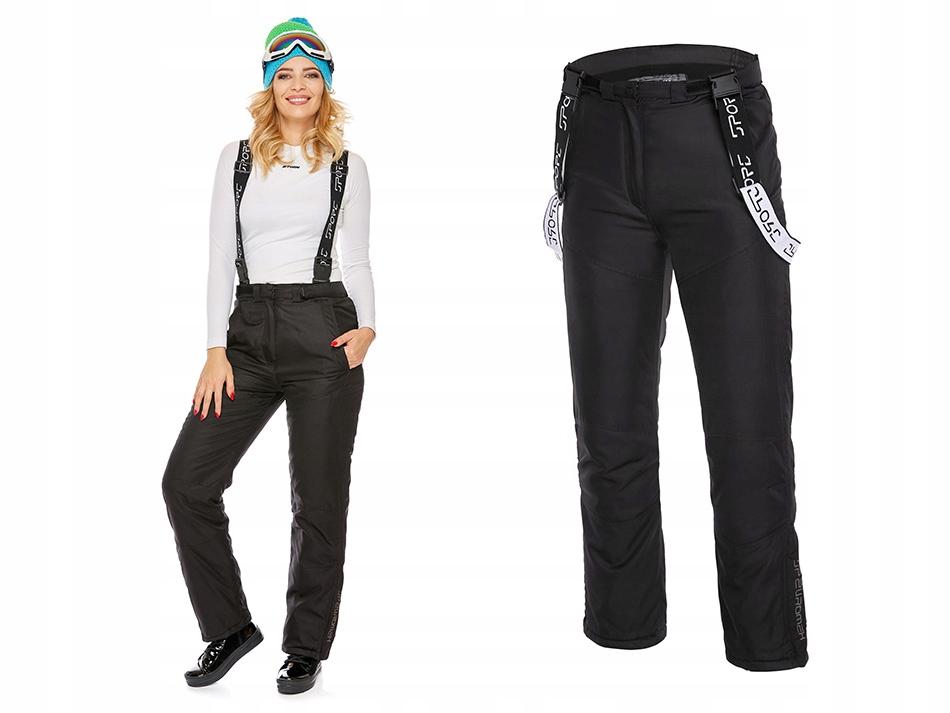 Damskie Spodnie Narciarskie Zimowe Na Sanki Xs 8456140135 Allegro Pl