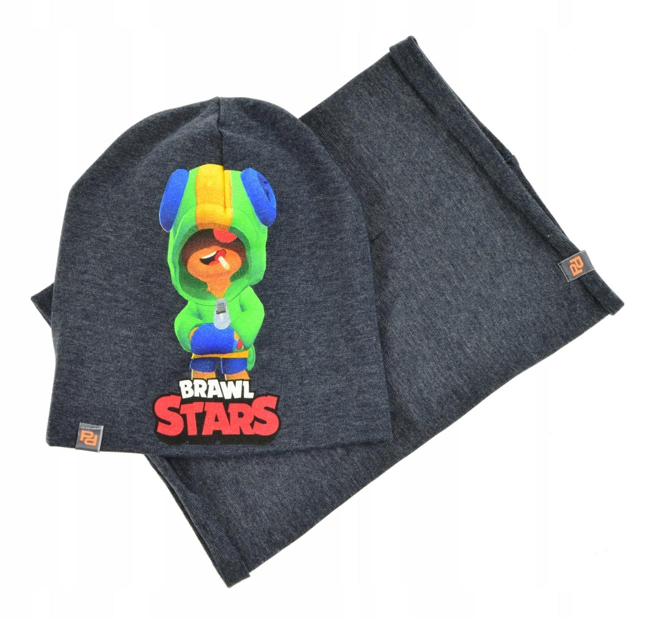 komínová čiapka BRAWL STARS sada, vzor 50-54 vzor H