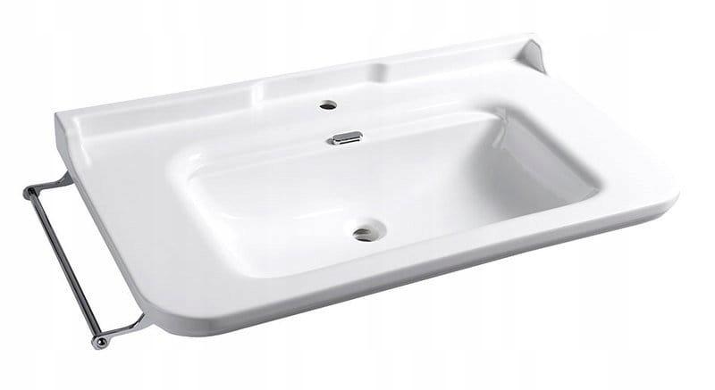 Umývadlo RETRO 120x55cm závesné, biele WALDORF