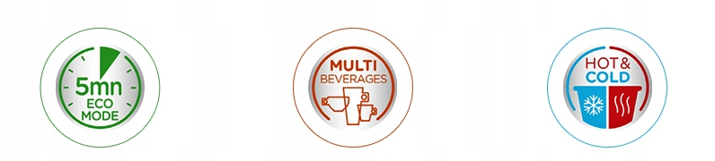 Капсульная кофемашина Krups Dolce Gusto INFINISSIMA Вес продукта 3,3 кг
