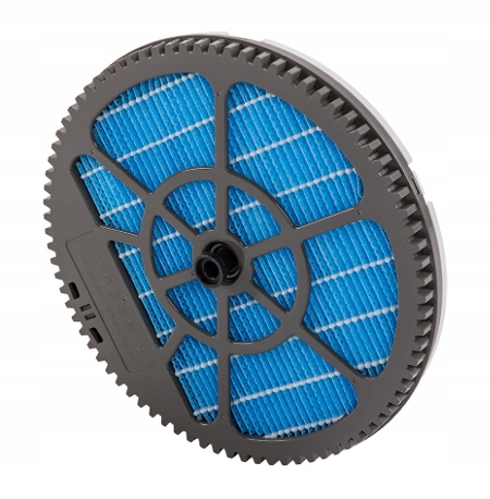 Oczyszczacz powietrza Sharp KC-G60EU-W + nawilżacz Wydajność oczyszczania 408 m³/h