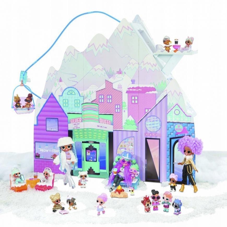 2020 Obrovský zimný domček pre bábiky LOL Surprise
