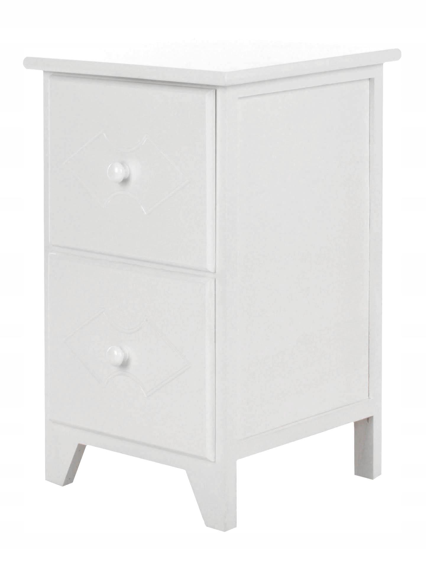 K27 nočnom stolíku NOČNÝ stolík toaletný stolík VINTAGE WHITE