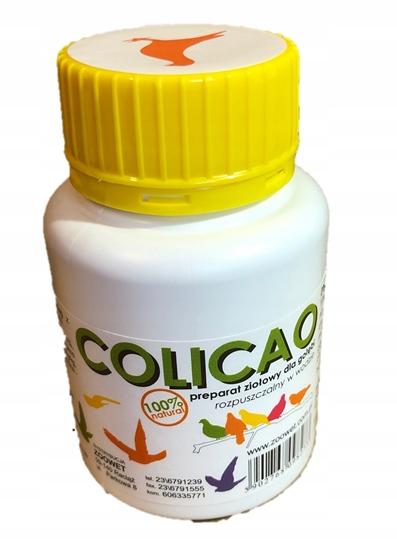 Colicao 100% zioła wyciąg z kasztana na biegunkę