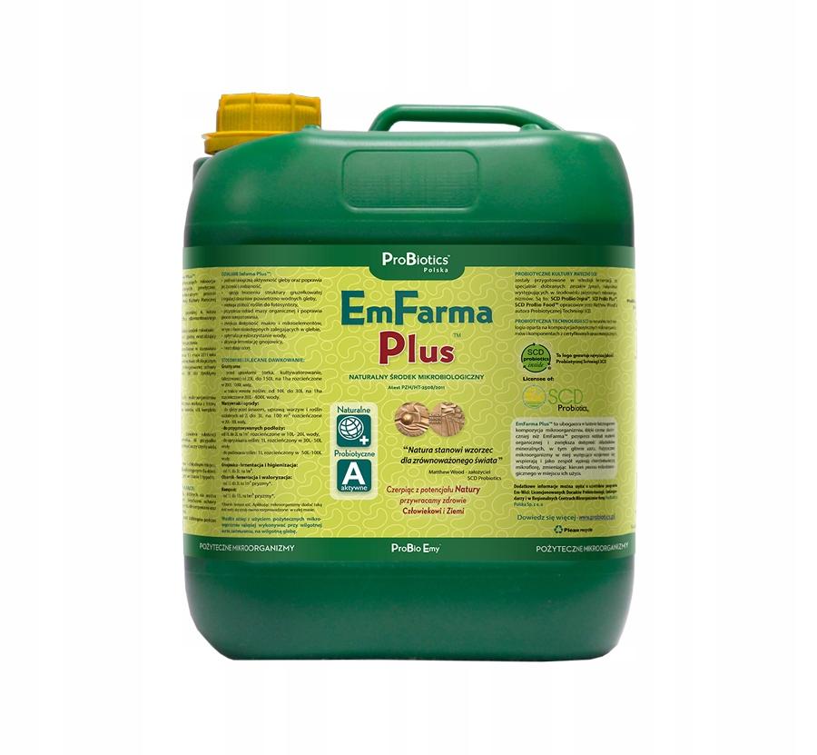 EmFarma Plus 20 L - preparat do użyźniania gleby